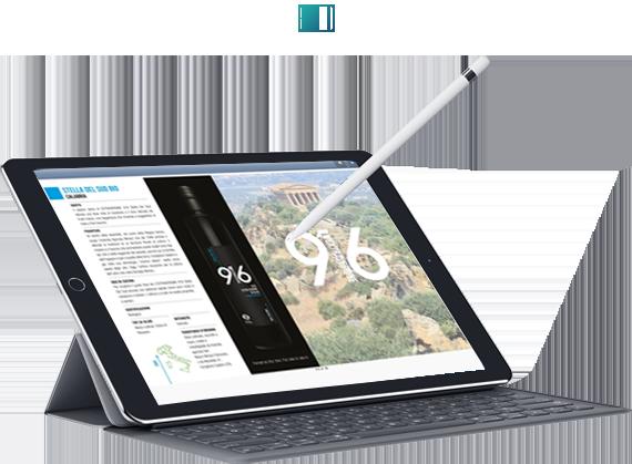 Catalogo sfogliabile tablet