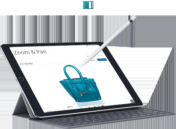Galleria fotografica tablet