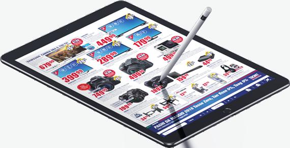 Catalogo sfogliabile online per iPad