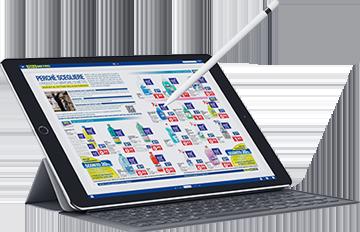Catalogo online per iPadPro