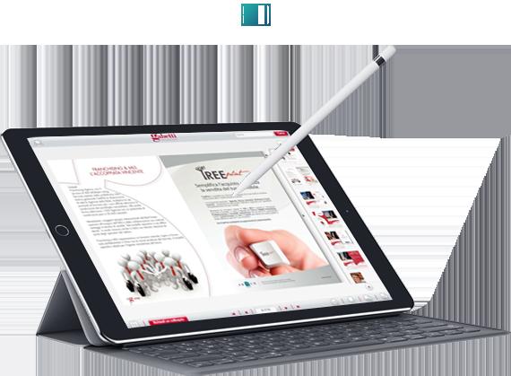 Pubblicazioni digitali tablet